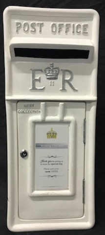 Royal Mail White Post Box