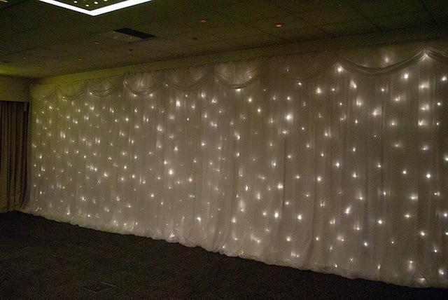 Starlight Backdrop Hire – Twinkle Backdrop