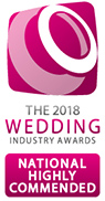 2018 Wedding Industry Awards National Highly Commended