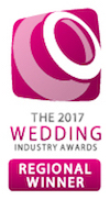 2017 Wedding Industry Awards Regional Winner