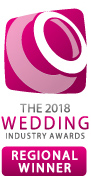 2018 Wedding Industry Awards Regional Winner