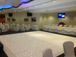 White Starlight Dance Floor Hire