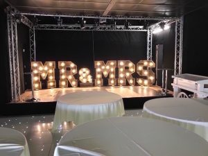 4ft Rustic Letter Hire