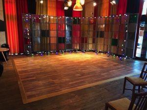 Wooden Parquet Dance Floor Hire