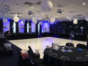 White Gloss Dance Floor Hire