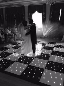 Black & White Starlight Dance Floor