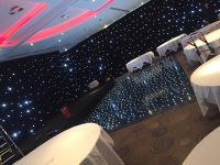 Black Starlight Dance Floor Hire