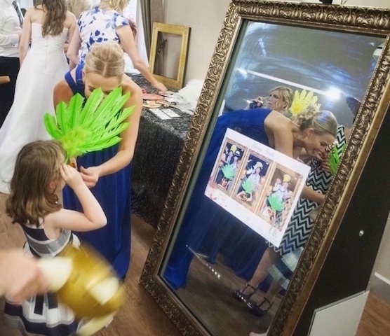 Magic Selfie Mirror Photo Booth Hire