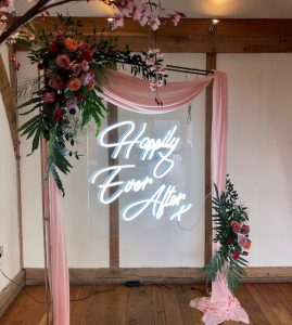 Neon Happily Ever After Hire