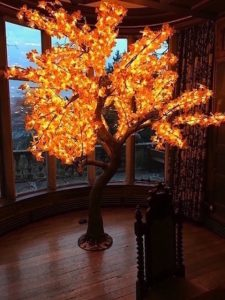 LED Maple Leaf Tree Hire