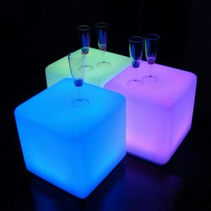 LED CubeSeats Hire
