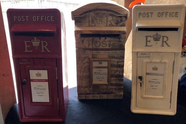 Post Boxes Hire